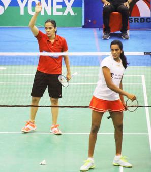 Saina beats Sindhu in final; Prannoy shocks World No. 2 Srikanth