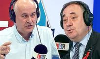 LBC host scolds Alex Salmond for being 'OBSESSED' about access to the single market