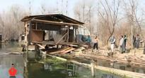LAWDA demolishes five illegal structures, seals shop