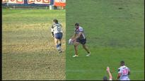 Greg Inglis replicates Terry Lamb's 1992 field goal shocker