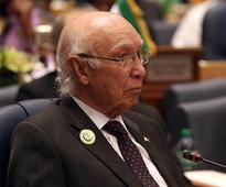 Pakistan will continue offering diplomatic, moral and political support to Kashmiris, says Sartaj Aziz