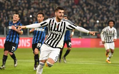 Coppa Italia: Morata's brace helps Juventus sweep aside Inter