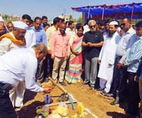Swimming pool work at Ashok Nagar begins