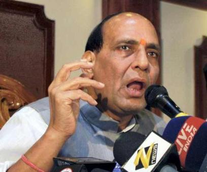 Yeh padosi hai ke manta hi nahin, Rajnath totally rocks Parliament