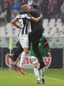 Vidal strike puts Juventus on brink of Serie A title