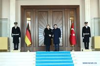 Turkish PM meets with German Chancellor in Ankara