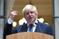Europe stunned as Britain's 'jester' Boris bec... Newly appointed Foreign Secretary Boris Johnson addresses staff inside the F...