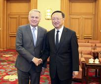 Yang Jiechi Meets with Foreign Minister Jean-Marc Ayrault of...