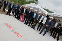 Foundation Stone Laid at Opkorn Shopping Centre in Differdange