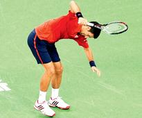 Novak Djokovic first loses his cool, then his match at Shanghai