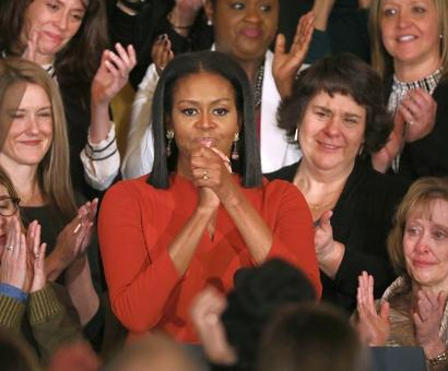 Racist attacks 'cut me the deepest' as first lady: Michelle Obama