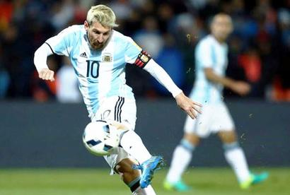 Argentina's Messi sidelined for World Cup qualifier vs Venezuela