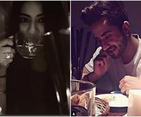BFFs Aly Goni & Krishna Mukherjee aka Romi-Alia of Yeh Hai Mohabbatein spend quality time at their dinner date!