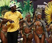 Usain Bolt Makes His First Public Appearance in Rio, And a Party Breaks Out