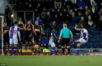 Blackburn 1-0 Newcastle: Charlie Mulgrew free-kick seals Rovers win against Rafa Benitez's title challengers