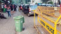 Parking menace near NMIMS refuses to die