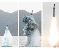 DPRK top leader guides strategic submarine-launched ballistic missile