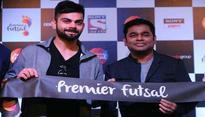 Virat Kohli turns rapper, dances to AR Rahmans tunes for Premier Futsal