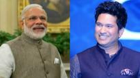 Sachin thanks PM Modi for citing his example to students