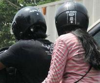 Now, helmets compulsory even for pillion riders