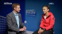 Interview with Simona Halep: Romanian seeded fourth at WTA tournament in Wuhan