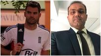 Virender Sehwag's birthday wish for James Anderson shows why he is the ultimate Twitter ninja