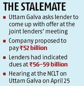 Insolvency proceedings: Uttam Galva Steels asks lenders for counter-offer