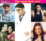 Kapil Sharma's whopping contract fee, Shah Rukh Khan's new TV show and Aman Verma's wedding  a look at what made news on TV!