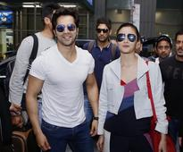 IIFA 2017: Varun Dhawan, Alia Bhatt, Sonakshi Sinha arrive in New York for award show