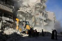 Warplanes pound Syria's Aleppo, U.N. security council to meet