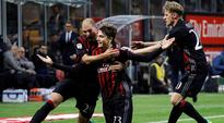 Manuel Locatelli's stunning strike gives AC Milan controversial win over Juventus