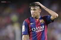 Neymar's leg injury not serious, back to training