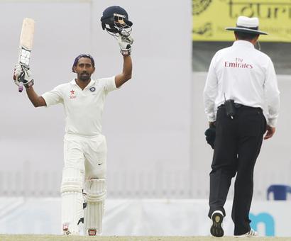PHOTOS: Pujara, Saha, Jadeja give India the edge in Ranchi