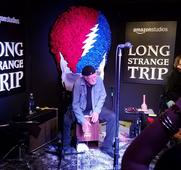 The Grateful Dead played a beautiful private show ahead of 'Long Strange Trip' premiere