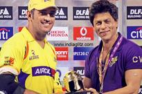 Can Shah Rukh Khan separate M.S. Dhoni from Chennai Super Kings&#63