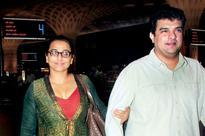 Vidya Balan back on feet after dengue attack