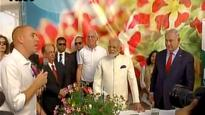 Modi in Israel: PM Modi visits Danziger flower farm in Israel; Crysanthumun flower will be named Modi