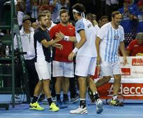 Argentina oust champs Britain, make first Davis Cup final since 2011
