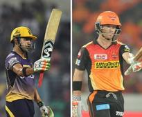 LIVE, IPL 2017, KKR vs SRH, cricket scores and updates: Cutting dismissed by Boult