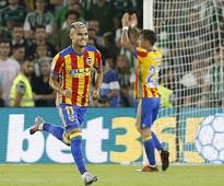 La Liga: Valencia survive late onslaught from Real Betis to win 6-3, move up to 2nd in table