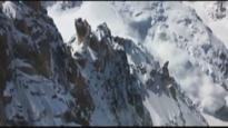 Raw: Video captures moment avalanche rips down Mont Blanc, killing NZ man
