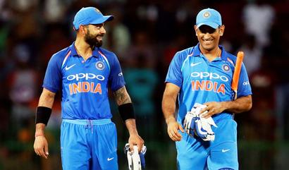 Kohli's support for Dhoni remarkable: Ganguly
