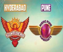 IPL 9: Live Cricket Score RPS vs SRH