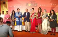 The award winners at the India Today Woman Summit 2013