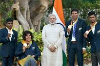 PM meets Rio Paralympians, says they have made country proud