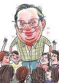 Ruskin Bond's theory of happiness