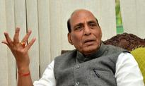 Militants strike thrice as Rajnath visits J&K