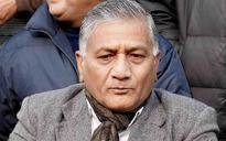General VK Singh demands Akbar Road be renamed Maharana Pratap Road
