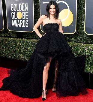 Did Kendall choose the wrong year to debut at Golden Globes?