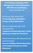 American Brain Tumor Association Supports Special Session on Metastatic Brain Tumors at 2016 Society of Neuro-Oncology Meeting